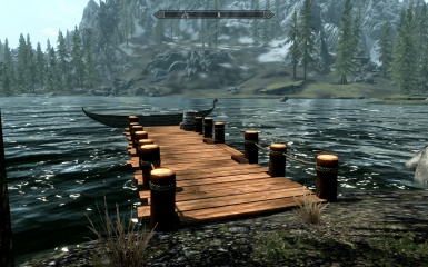 Lakeview Manor Dock and Shack
