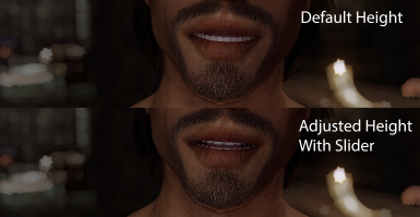 Perfect Smile - Teeth Height Slider for RaceMenu