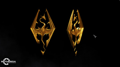 Gilded Spinning Main Menu Emblem
