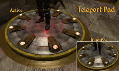 Teleport Pads