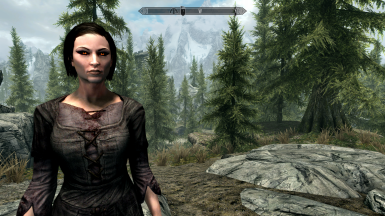 Humanoid Vampires SE - Vampires use normal faces and Serana's eyes variant