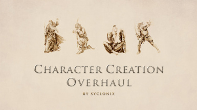 Character Creation Overhaul - Races - Birthsigns - Classes - Skills - Specializations - Attributes