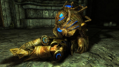 Controlled Dwarven Power Suits - Mihail Monsters and Animals (SSE PORT)