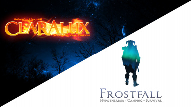 CLARALUX Fires work with Frostfall