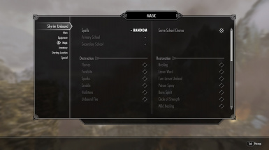 with default spell addons