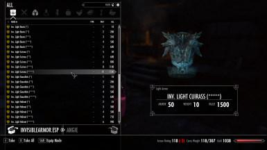 Invisible Armors Enhanced at Skyrim Special Edition Nexus - Mods and