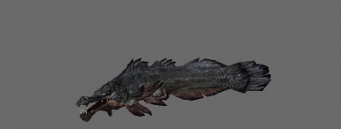 Salty Slaughterfish enhances head and jaws for a more eel-like appearance!