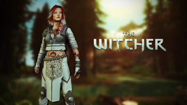 Witcher 3 Yennefer and Ciri armor HDT SMP SE