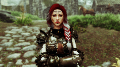 Aria Standalone Follower and face Preset SE at Skyrim Special