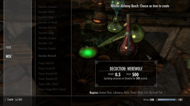 Witchery Decotions
