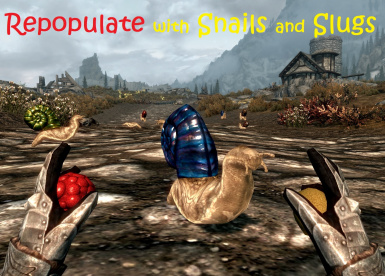 Repopulate Skyrim with Snails and Slugs SE
