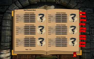 Spell Research Experience Book