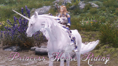 YY Anim Replacer - Princess Horse Riding -SSE-PORT-