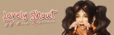 YY Anim Replacer - Lovely Shout -SSE-PORT-