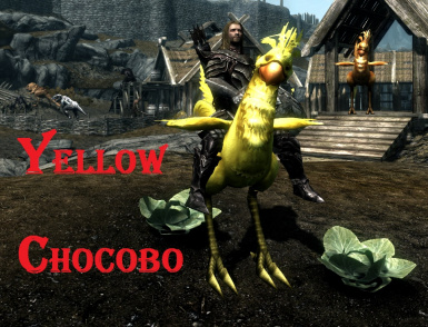 Yellow Chocobo