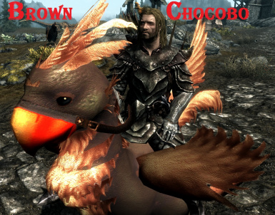 Brown Chocobo