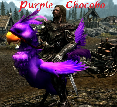 Purple Chocobo