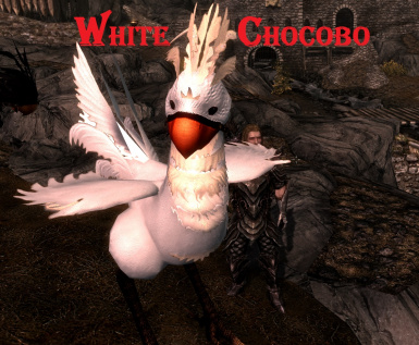 White Chocobo