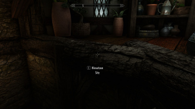 One of many hidden seat triggers