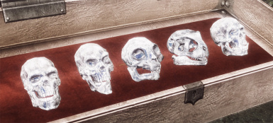 crystal skulls   not yet implemented