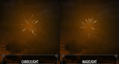 Candlelight and Magelight in Inventory
