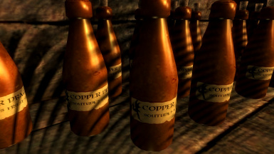 Copper Dragon Mead, and the ongoing mystery of why my shadows are so bad.