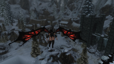 Succubus Race Real Flying Patch