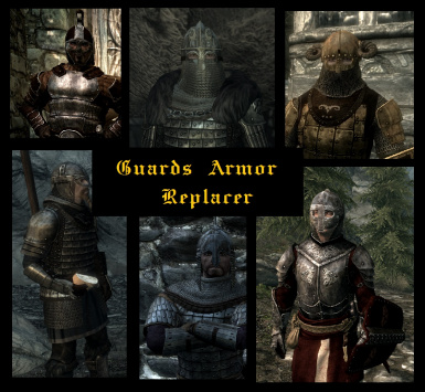 Guards Armor Replacer SSE Spanish