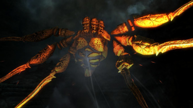 Air Atronach- Mihail Monsters and Animals (SSE PORT)