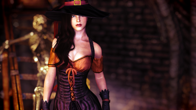 Bewitching Clothes - SSE CBBE BodySlide (with Physics)