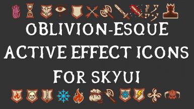 Oblivionesque Active Effects For SkyUI SE