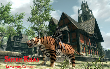 Shere Khan in Oblivion