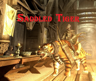 Saddled Tiger