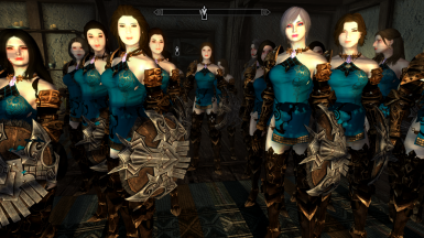 Guards Armor Replacer Bless Online to SSE
