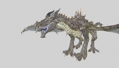 4 legged dragon model