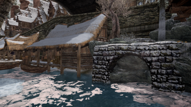 Skyrim Sewers - Skyrim Radioactive SE Windhelm Docks Patch