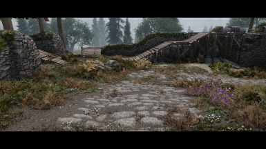 Whiterun Gate with Illustrious Whiterun
