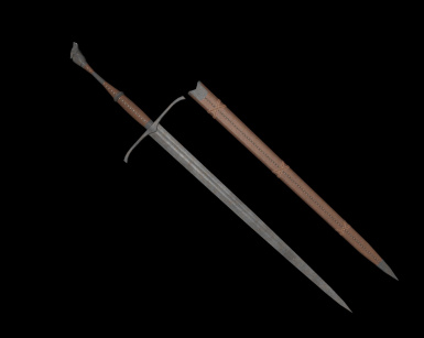 Wolf Steel Weapons (Replacer)