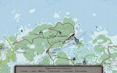 Marked Map, Solitude