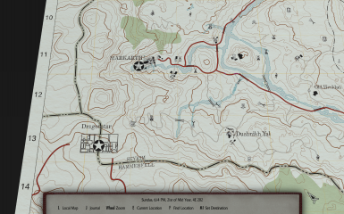 Old Map 4K 1.67, Markarth, map inclined