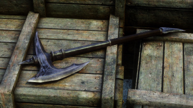 Ebony War Axe Version 1_2