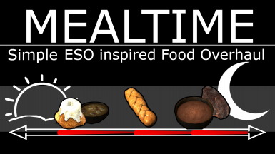 Mealtime - A simple ESO inspired Food Overhaul