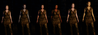 Charmers of the reach patch Racial body morph