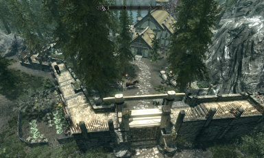 Lakeview extended hearthfire at skyrim special edition for Skyrim fish hatchery
