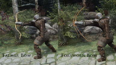 Falmer Bow and Forsworn Bow