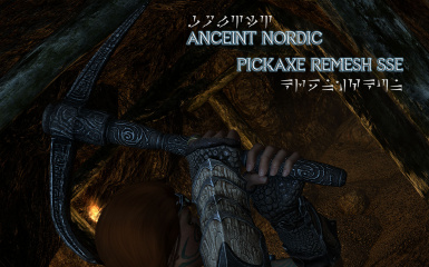 Ancient Nordic Pickaxe Remesh