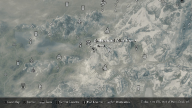 Map Of Skyrim Mines Detailed Mine Markers at Skyrim Special Edition Nexus   Mods and