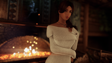 Sweater Dresses and Accessories - CBBE Bodyslide (with Physics)