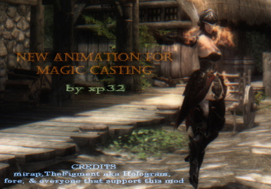 New Animation for Magic Casting SSE