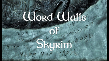 WordWalls of Skyrim
